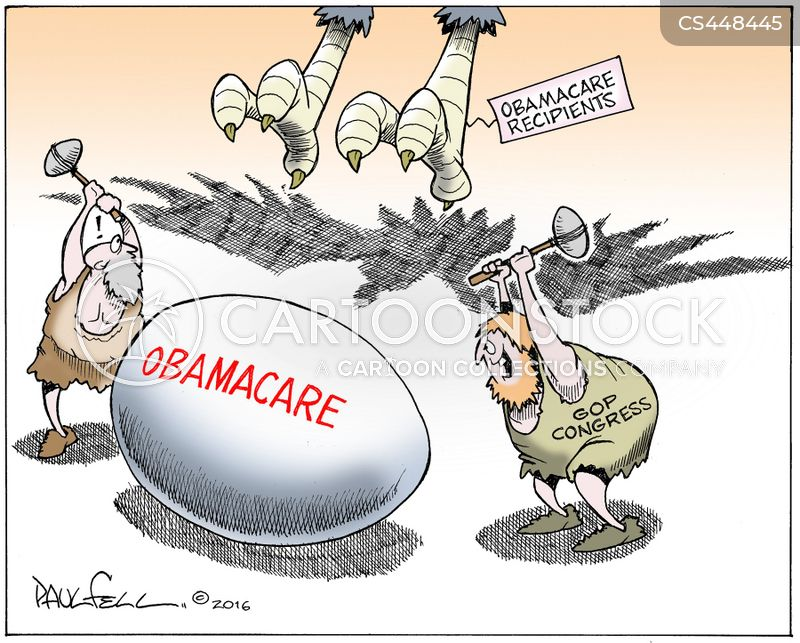 repeal and replace cartoon