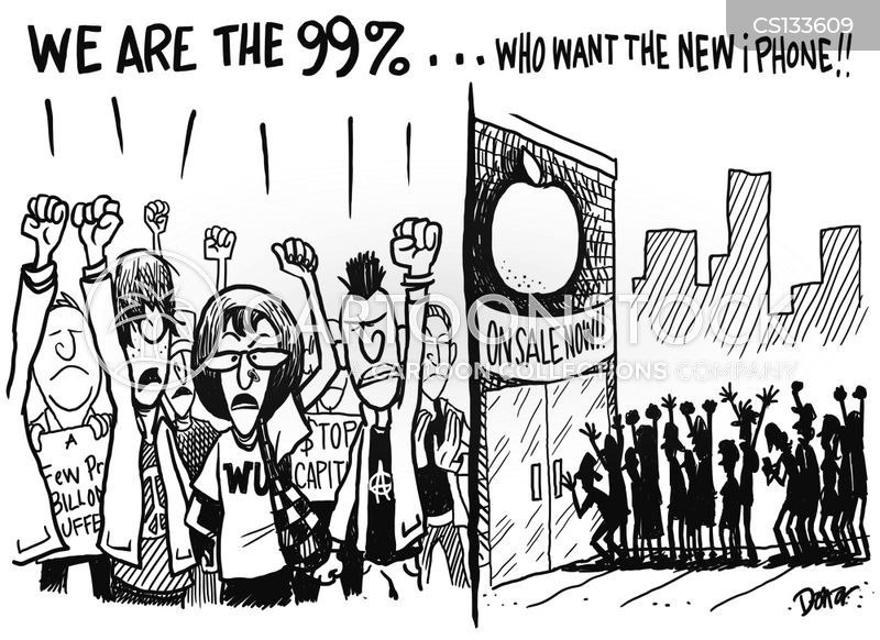 occupy protests cartoon