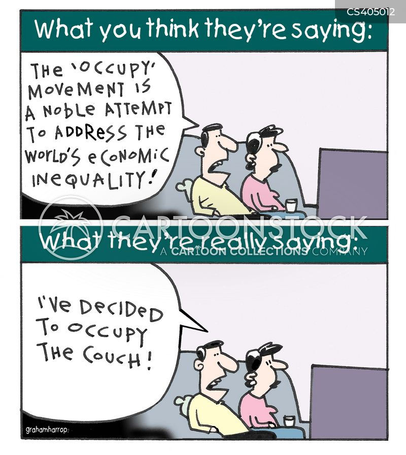 occupy movements cartoon