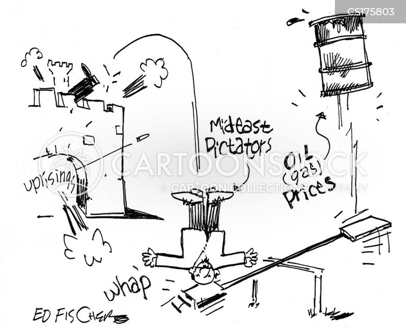gas price cartoon