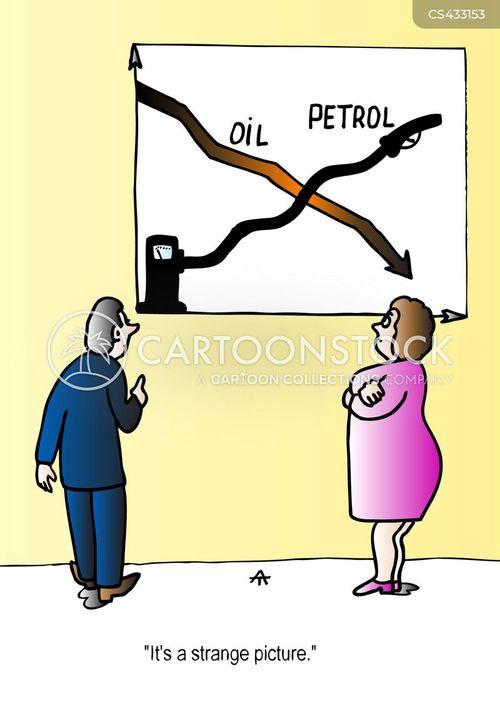 petrol pumps cartoon