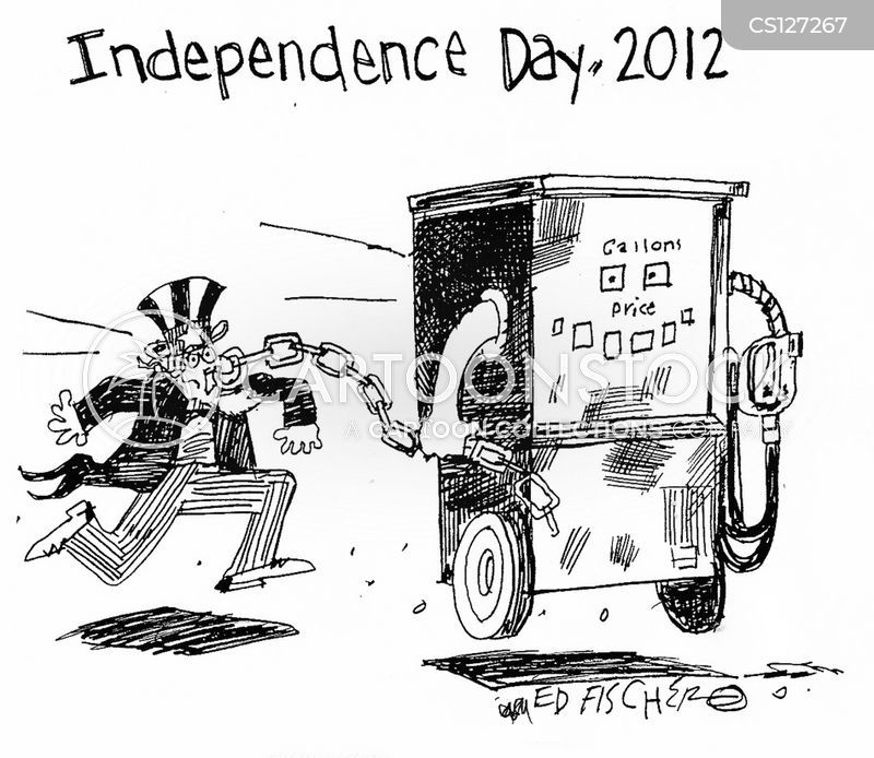 july 4th cartoon