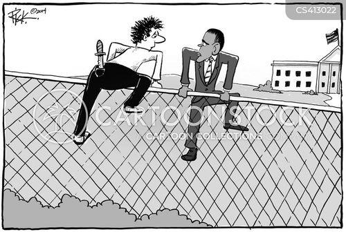 security threat cartoon