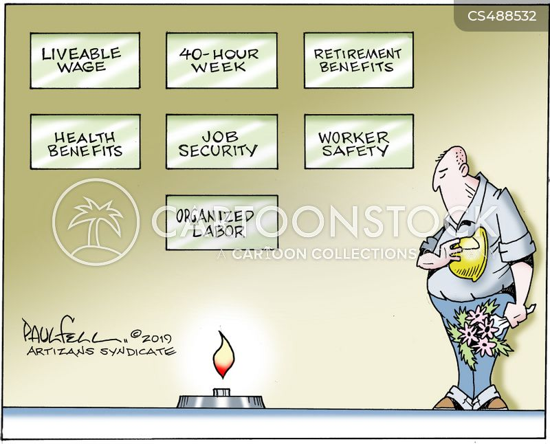 retirement benefit cartoon