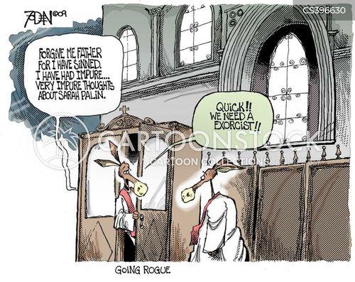 catholic priest cartoon