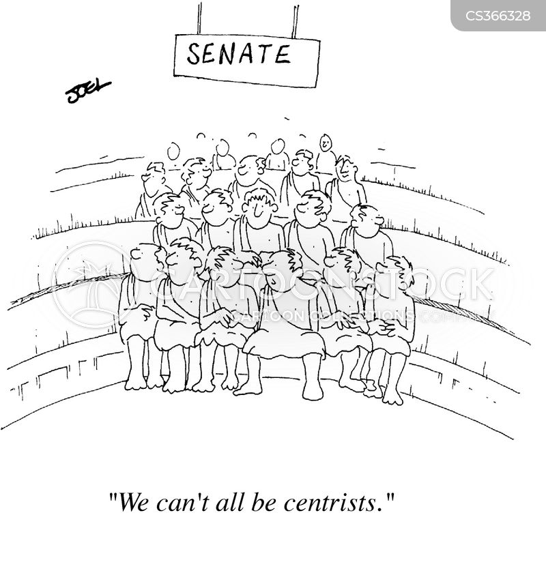 centrist cartoon