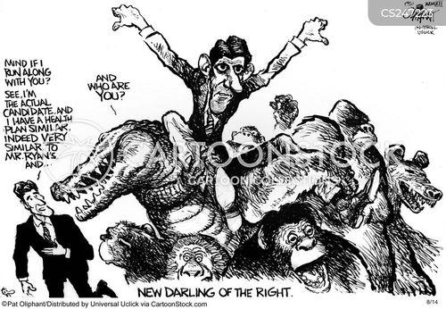 political right cartoon