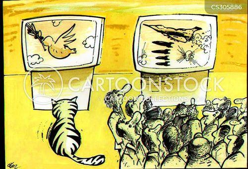 peace dove cartoon