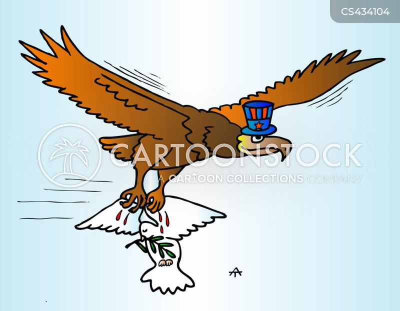 american eagle cartoon