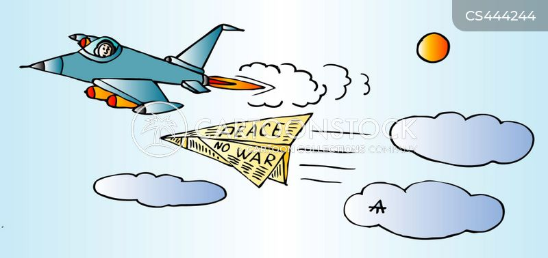 paper airplanes cartoon