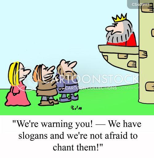 chant cartoon