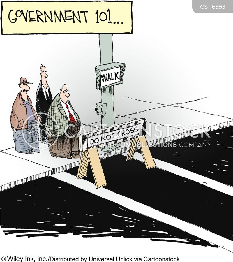 barriers cartoon