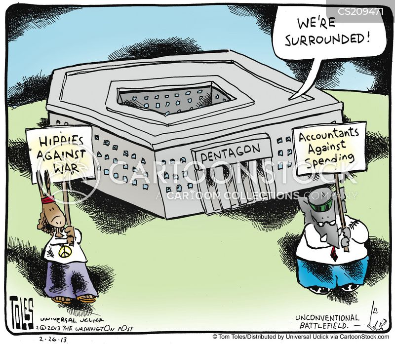 Politics And Defense Budget >> Military Spending Cartoons and Comics - funny pictures from CartoonStock