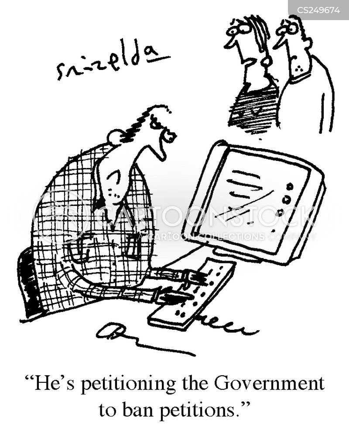 political movement cartoon