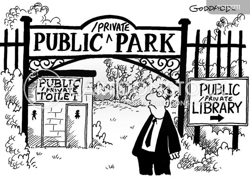 privatise cartoon