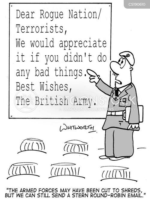 british army cartoon
