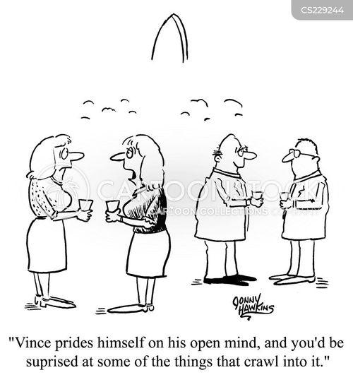 open mind cartoon