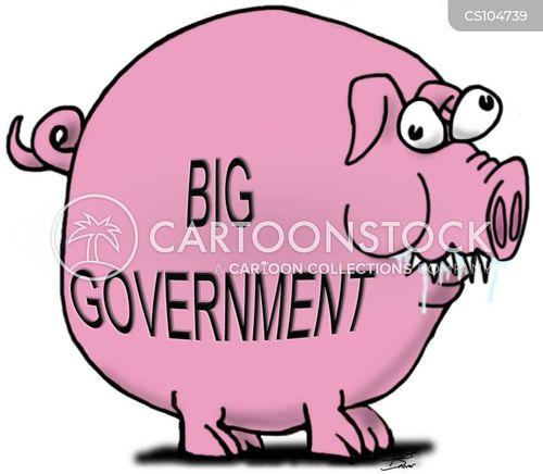 big government cartoon