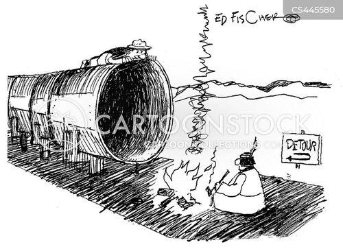 minnesota pipeline cartoon