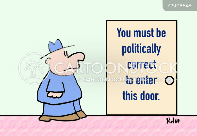 door sign cartoon