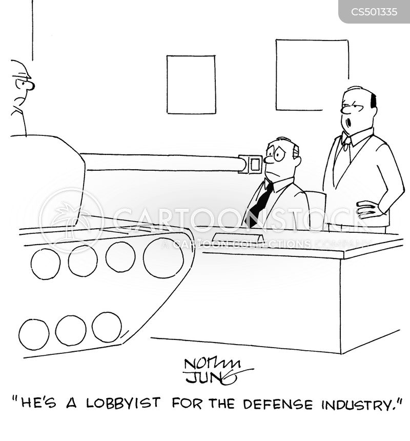 military tech cartoon