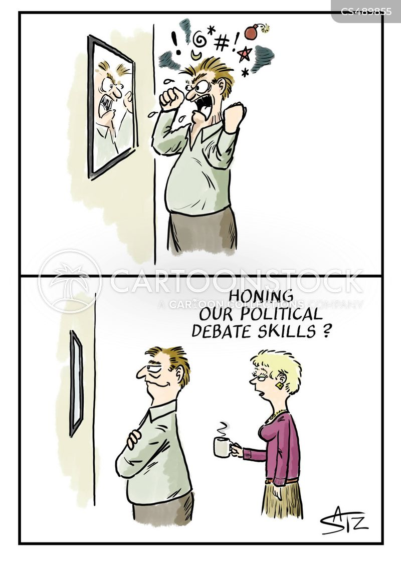 debating skills cartoon