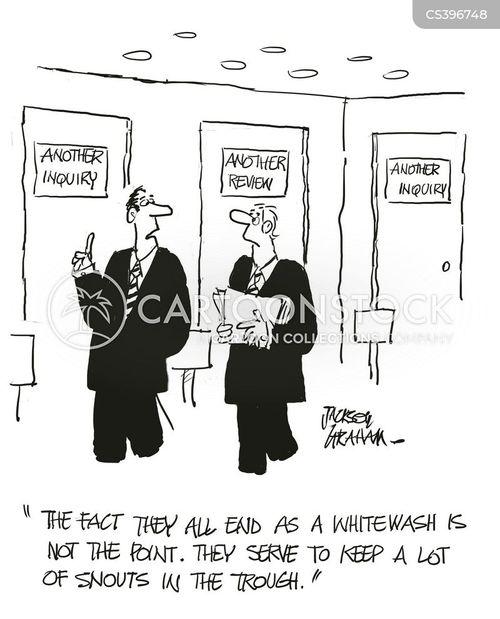 political inquiries cartoon