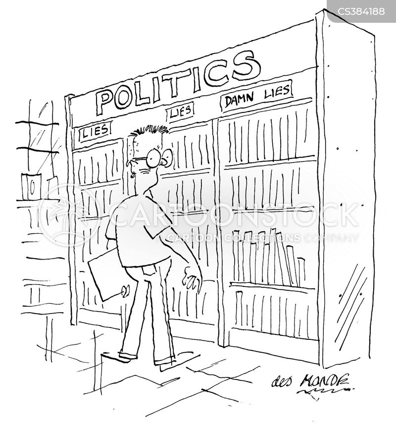 political literature cartoon