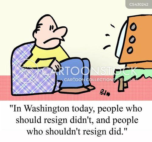 politically corrupt cartoon