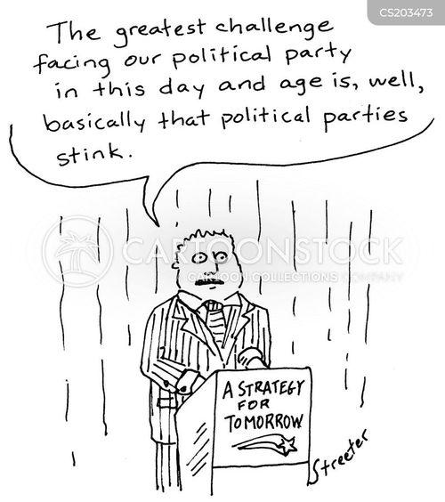 tory party cartoon