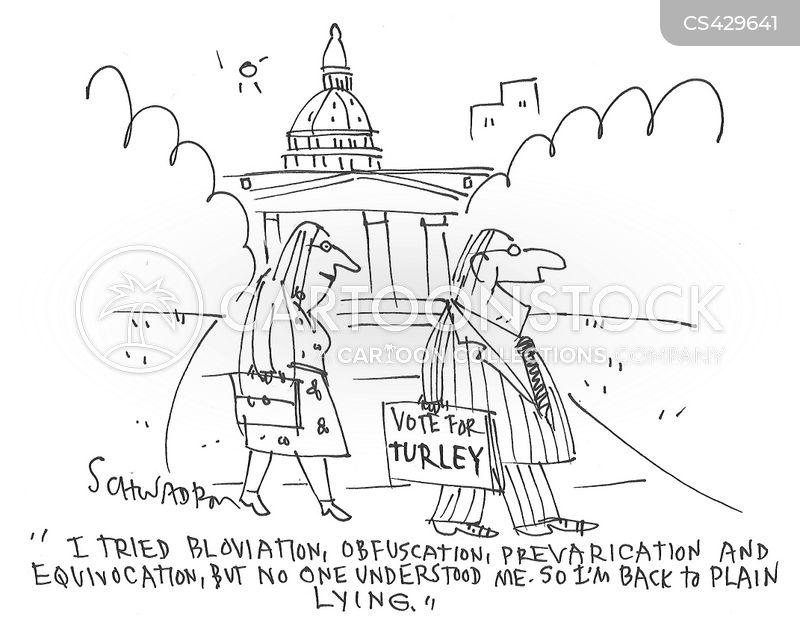 prevarication cartoon