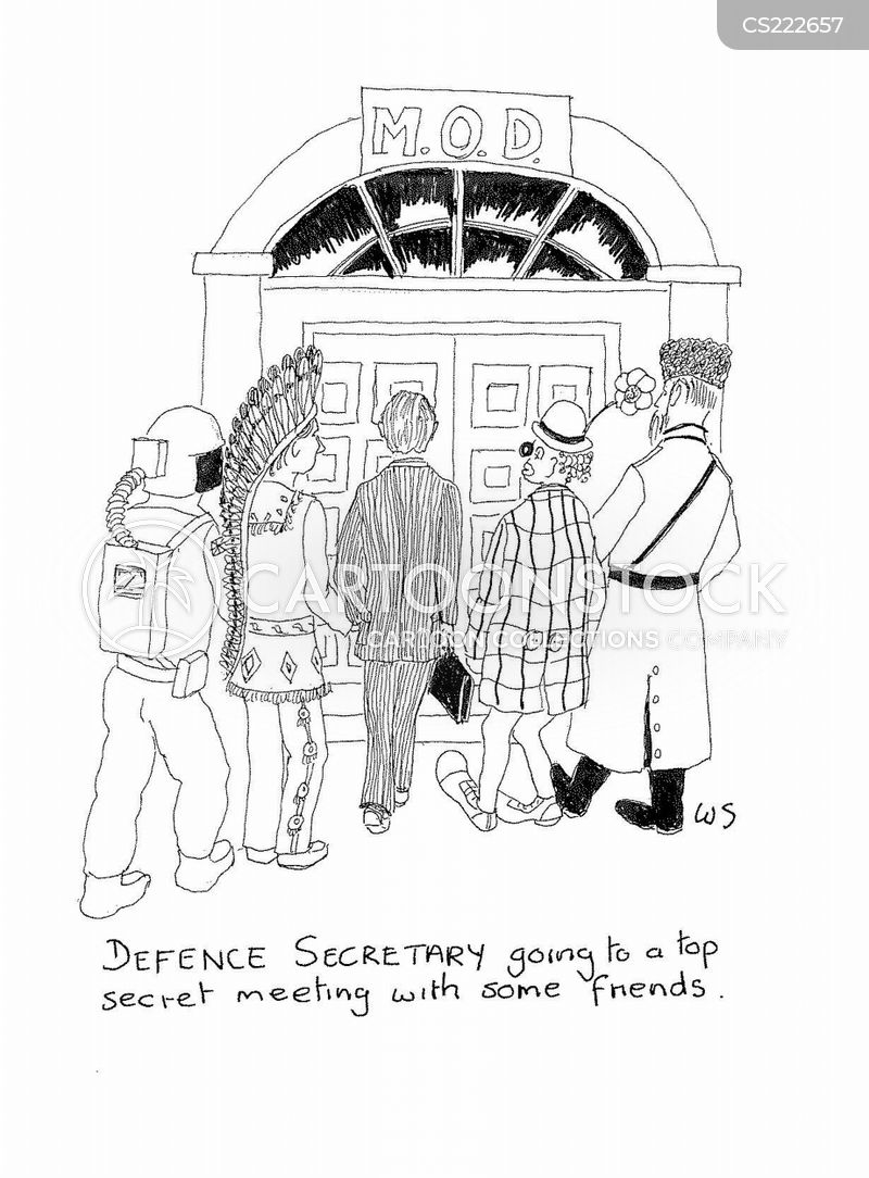 ministry of defence cartoon