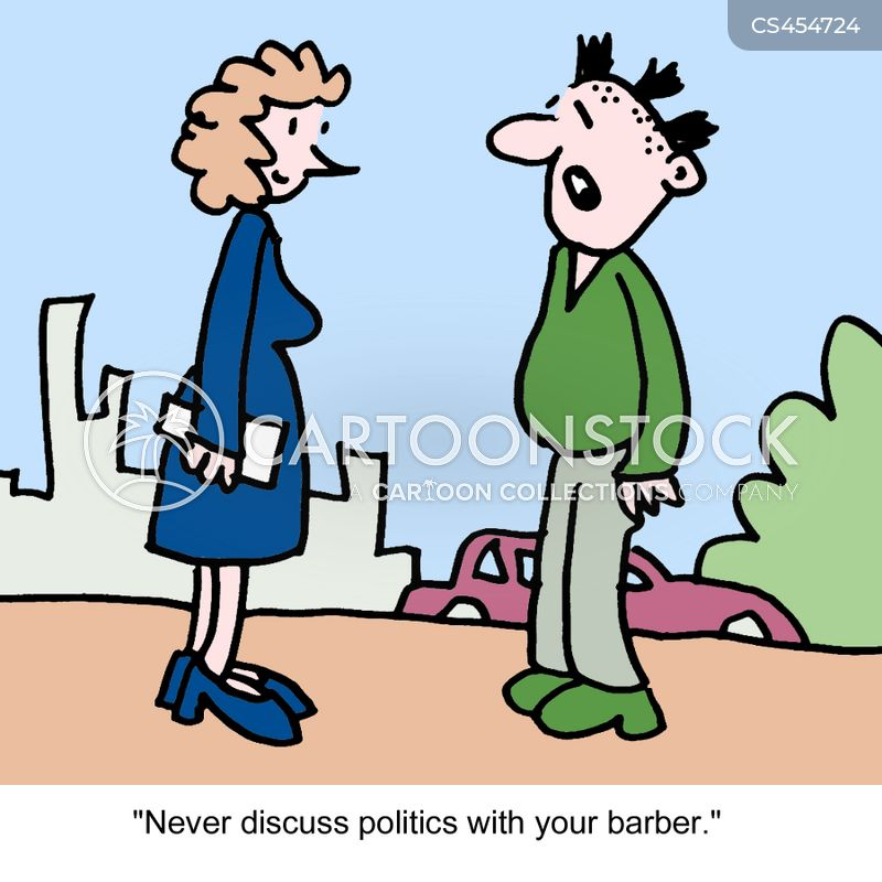 political discussions cartoon