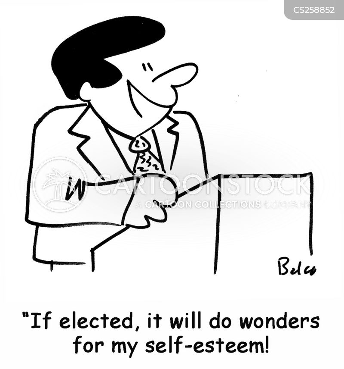 election speeches cartoon