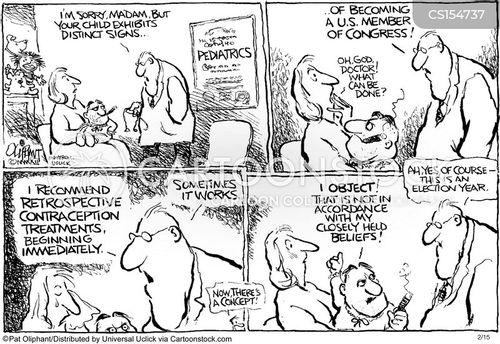 political careers cartoon