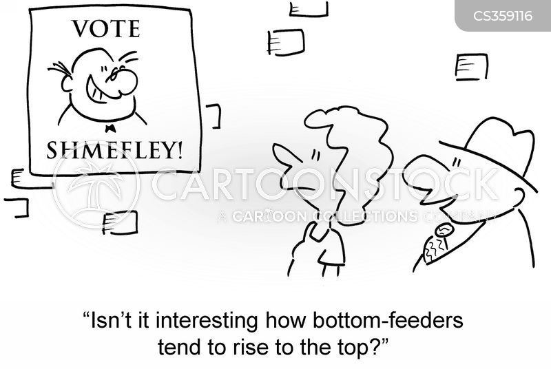 bottom feeder cartoon