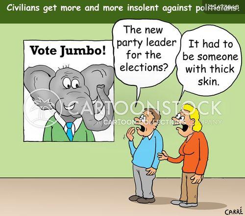 thick-skinned cartoon
