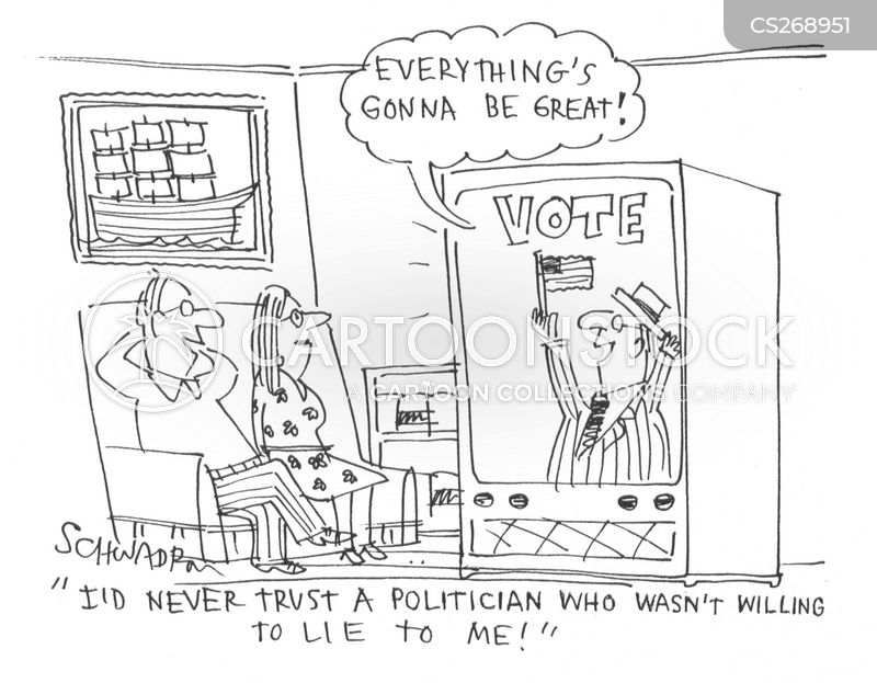 party political broadcasts cartoon