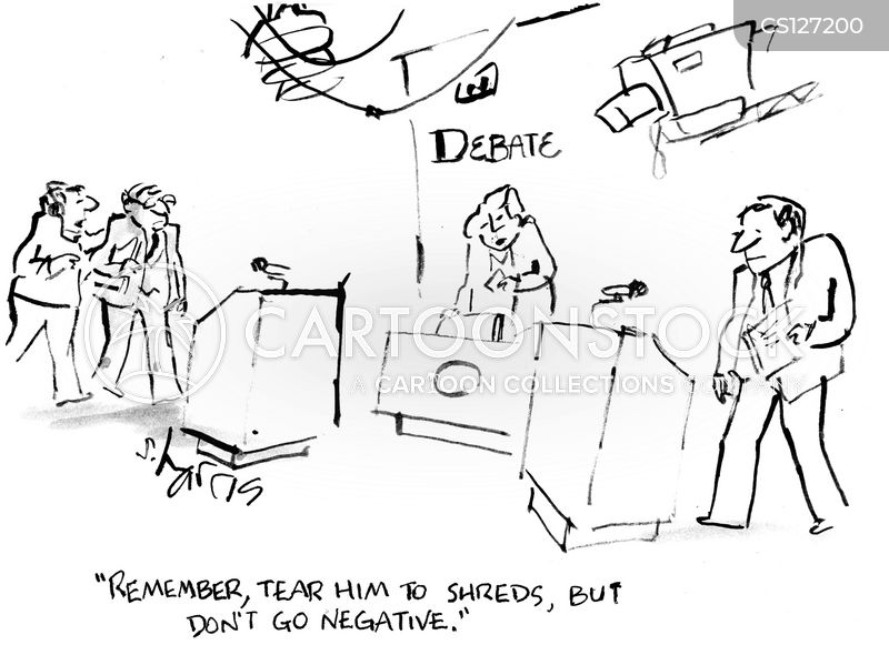 political aides cartoon
