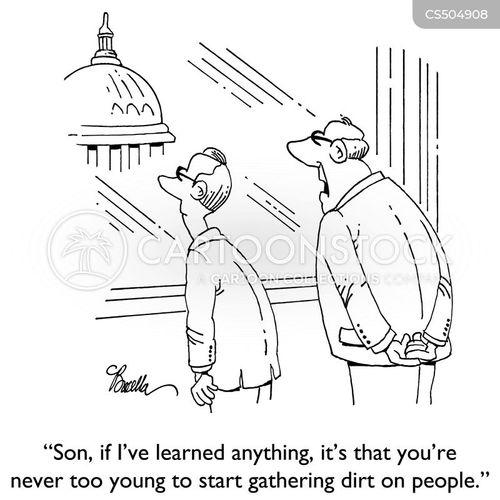 political ambitions cartoon