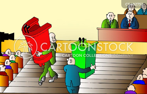 political platform cartoon