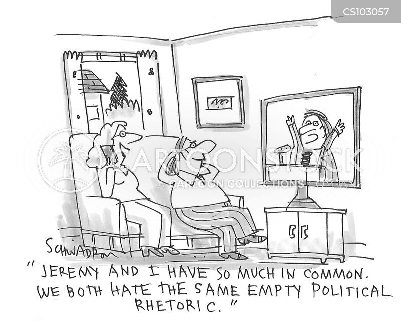 Political Rhetoric Cartoons and Comics - funny pictures from ...