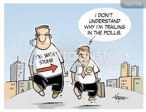political aid cartoon