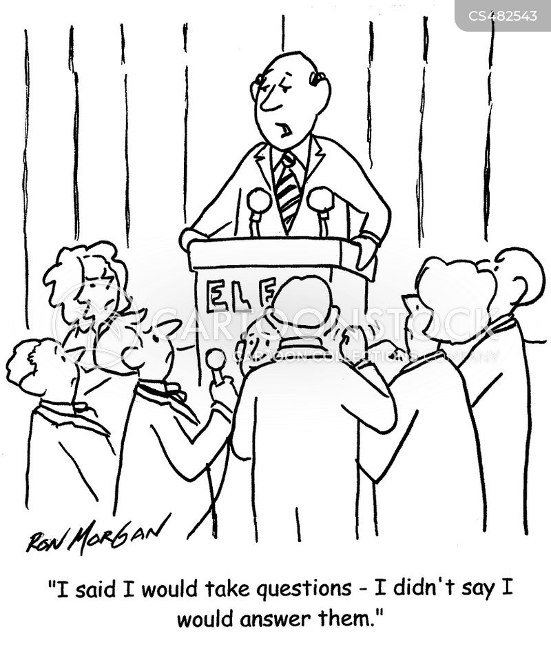 Q & A Session Cartoons and Comics - funny pictures from