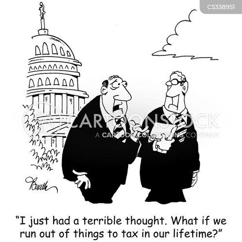 treasuries cartoon
