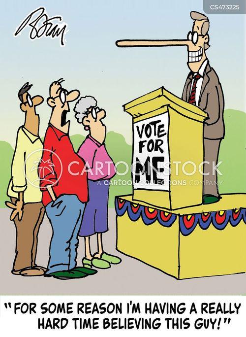 mistrustful cartoon