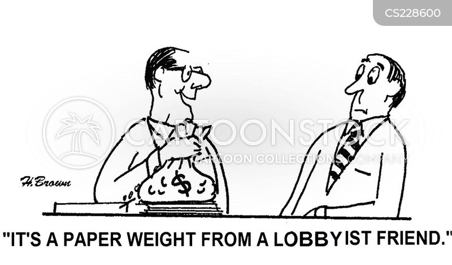 campaign contributions cartoon