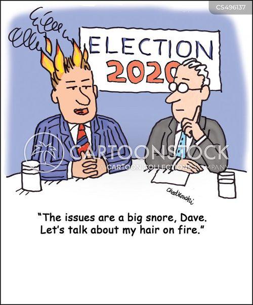 elections 2020 cartoon