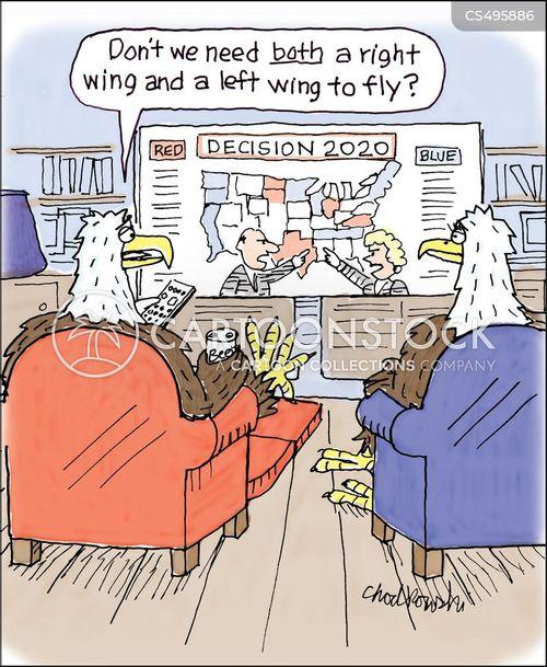 winging it cartoon
