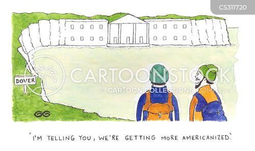 americanised cartoon